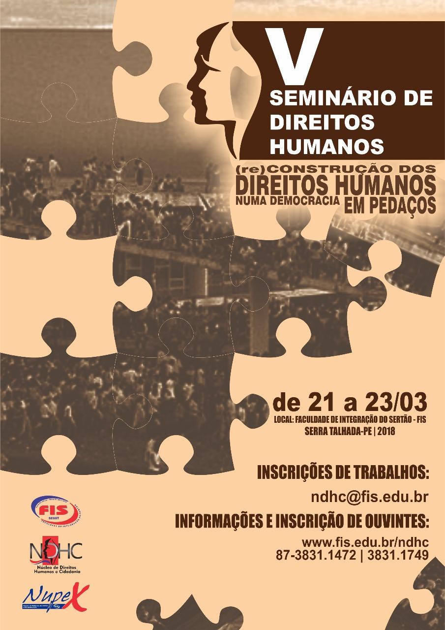 V Seminário de Direitos Humanos