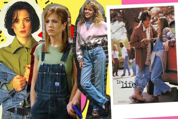 moda básica anos 90