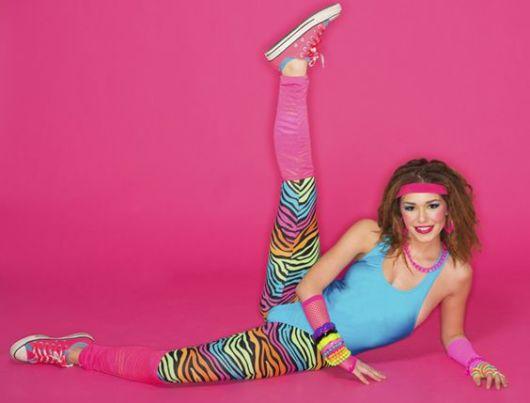 Moda fitness anos 80