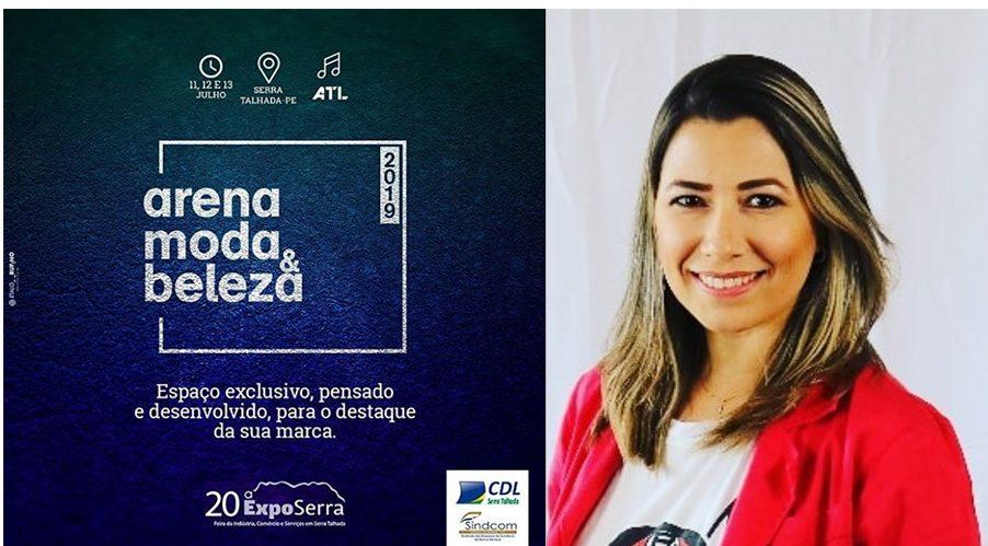 arena moda e beleza terá talk show mediado pela jornalista Rochany Rocha