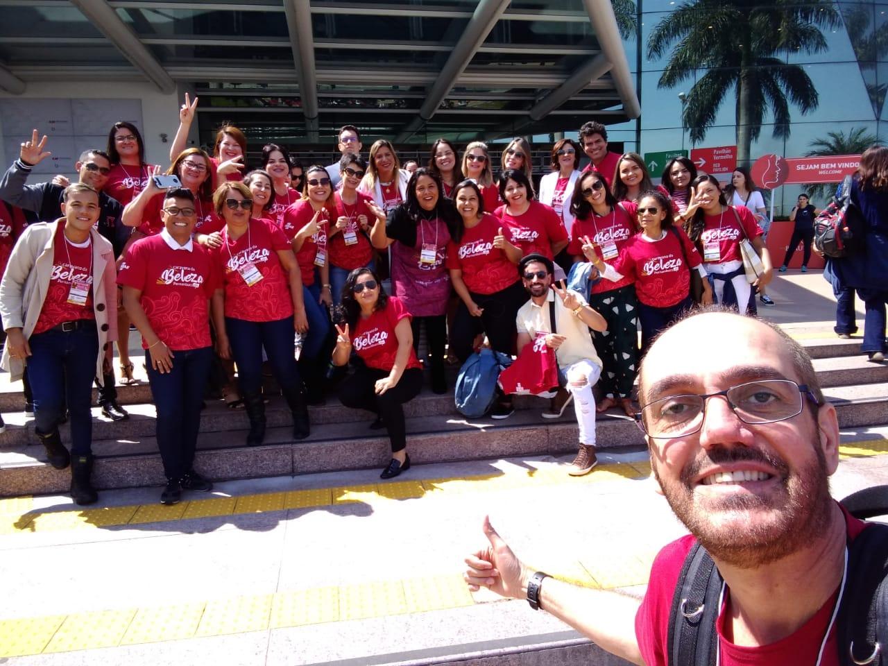Profissionais da beleza de Pernambuco marcando presença no Beauty Fair