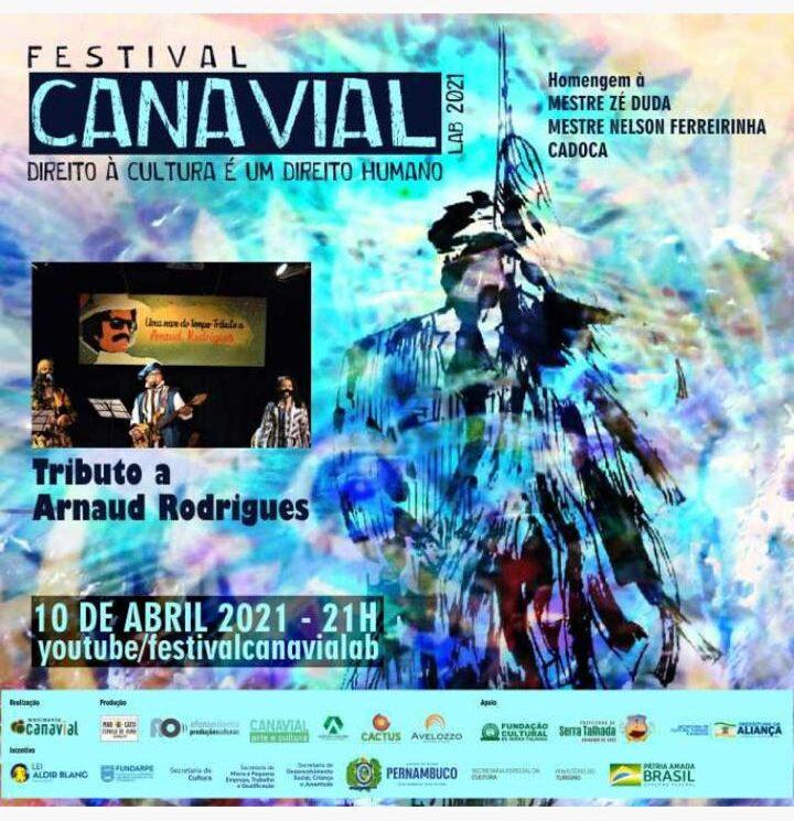Festival faz tributo a Arnourd Rodrigues