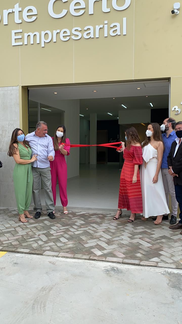 Mário Olímpio inaugura Empresarial Norte Certo