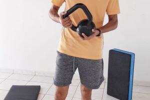 Aprenda a treinar em casa.