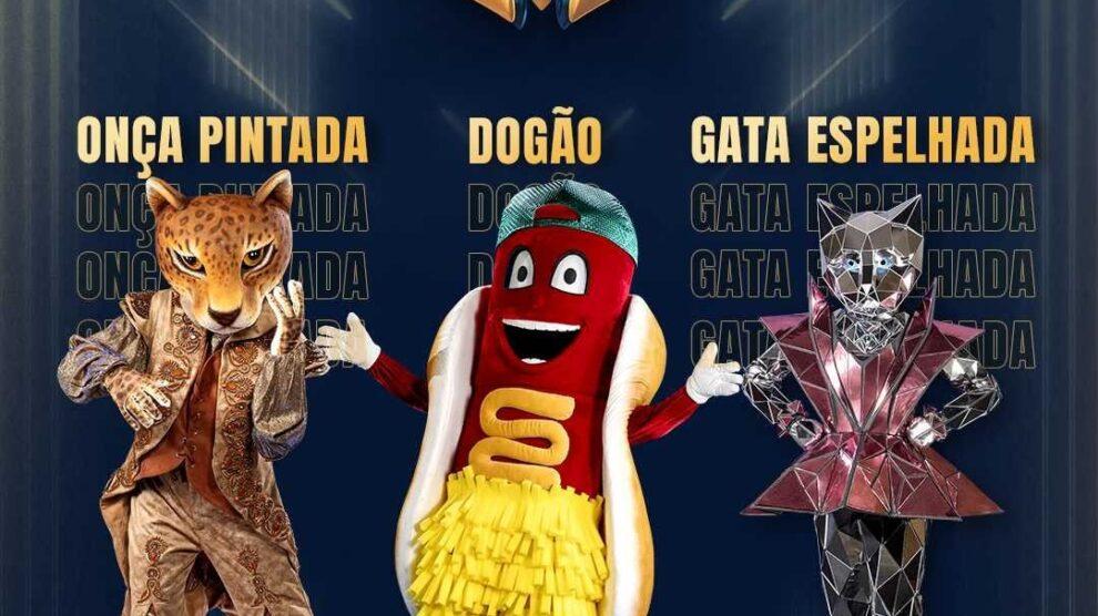 Fantasias do novo programa da TV Globo, Masked Singer.