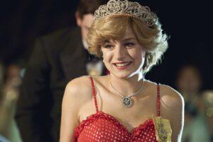 "Princesa Diana na série ""The Crown"""