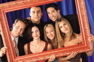 Elenco da série 'Friends'.