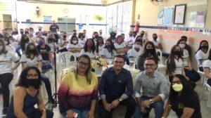 Escola Solidonio Leite faz palestra sobre Setembro Amarelo.
